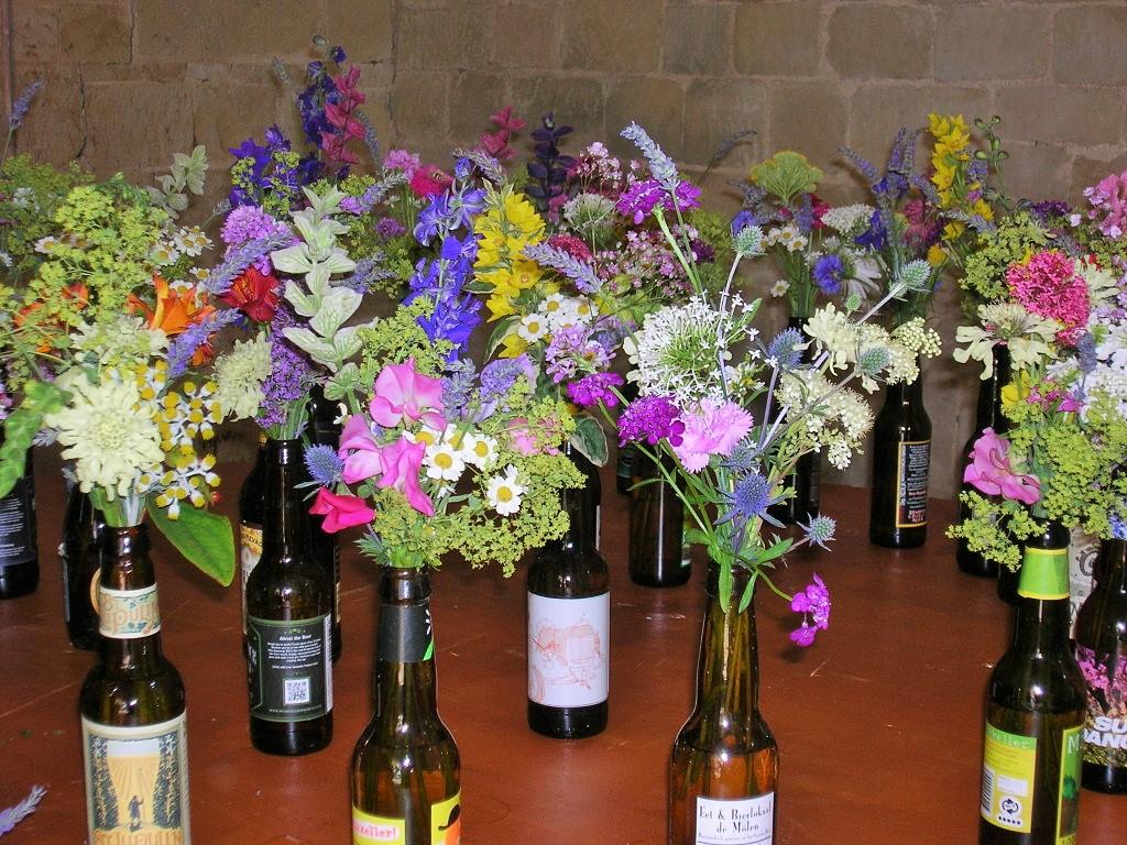 Bottle Creations Flower Arrangements