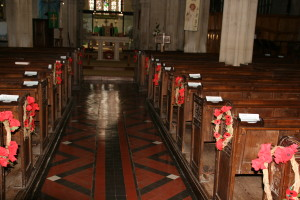 The Aisle of Wreaths
