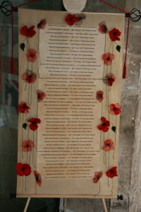 'Lest We Forget' Scroll